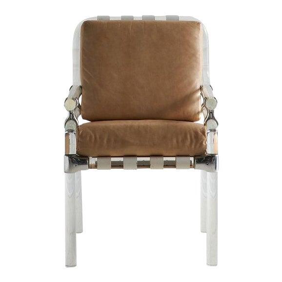 Jeff Messerschmidt Pipeline Series II Chair in Leather For Sale
