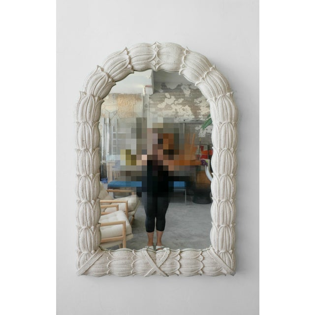 Huge Molded Concrete Sand Stone Wall Mirror For Sale In Las Vegas - Image 6 of 6