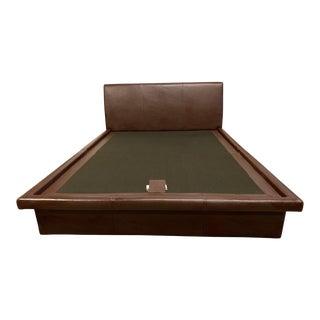 Room and Board King Platform Bedframe For Sale