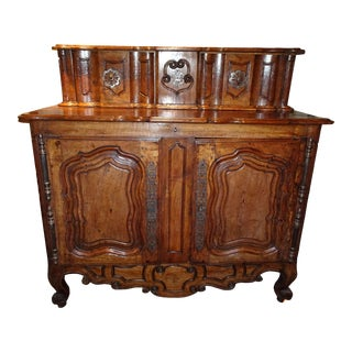 18th Century Walnut Buffet For Sale
