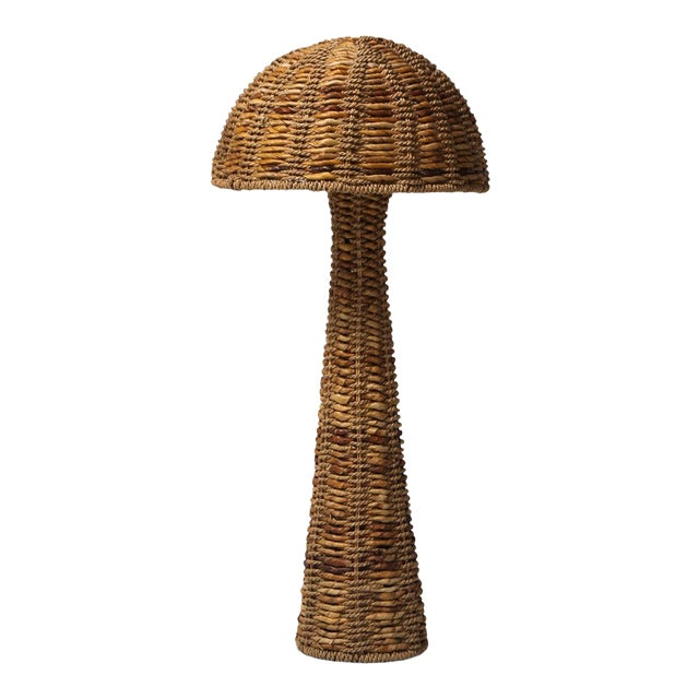 Gabriella Crespi Style Floor Lamp in True Tropicalist Style For Sale