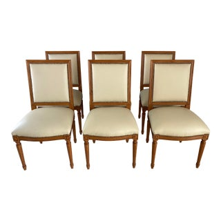 Ipf International Louis XVI Style Side Chairs - Set of 6 For Sale