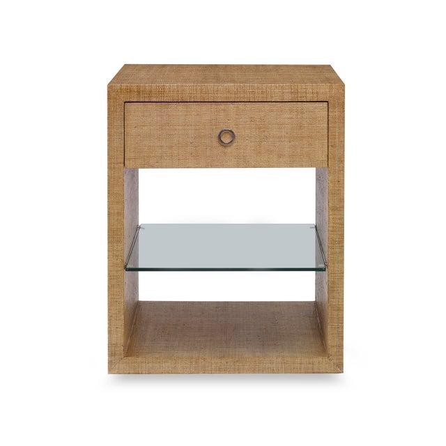 Modern Century Furniture Charleston Small Nightstand, Sand For Sale - Image 3 of 3