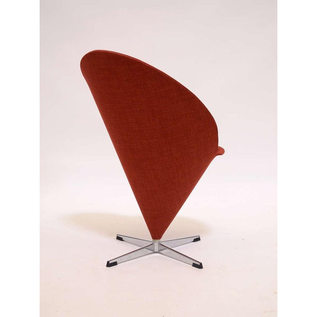 Black Cone chair by Verner Panton For Sale - Image 8 of 9