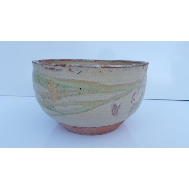 Ceramic Vintage Drip Glaze Fat Lava Planter Pot . For Sale - Image 7 of 8