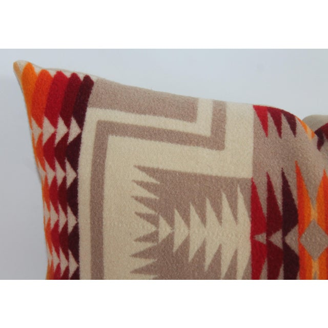 Americana Pendleton Pattern Pillow For Sale - Image 3 of 7