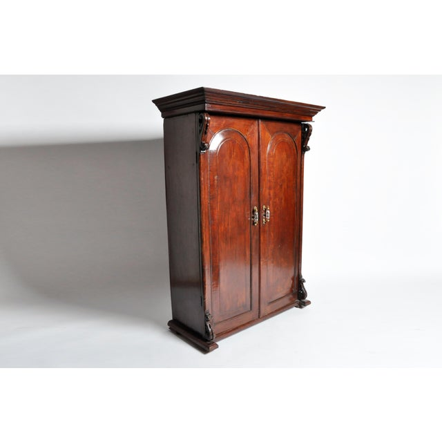 British Colonial Victorian Armoire For Sale - Image 4 of 11