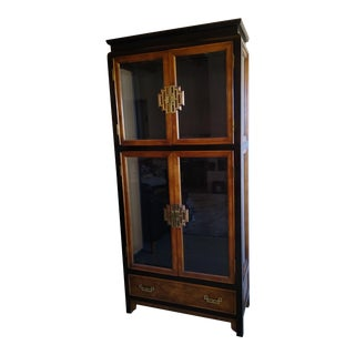 Century Furniture Asian Chin Hua Display Cabinet For Sale