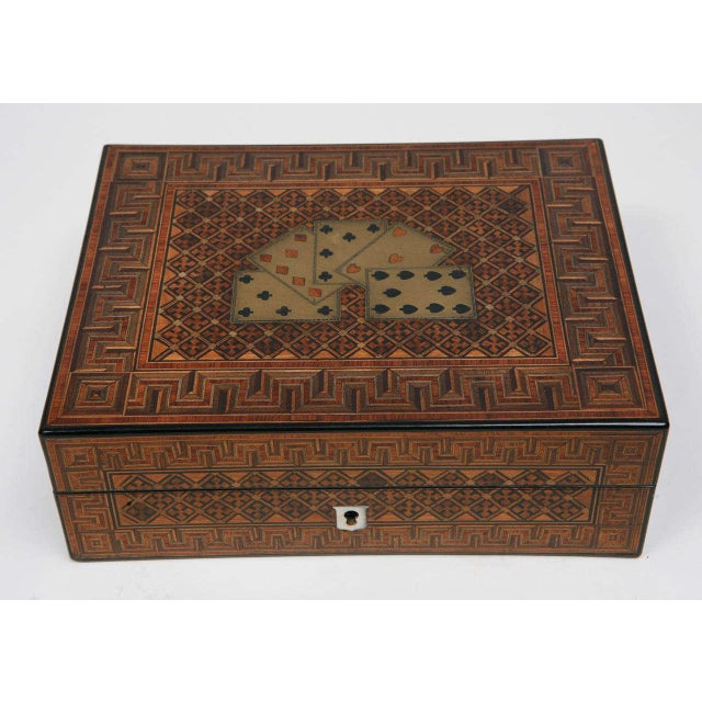 19th Century English Game Box For Sale - Image 9 of 11