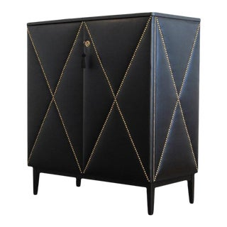 1930s DaVinci Collection Only in Black Cabinet For Sale