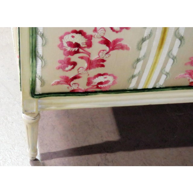 Paint Flair Decorators Inc Louis XV Style Sofa For Sale - Image 7 of 8