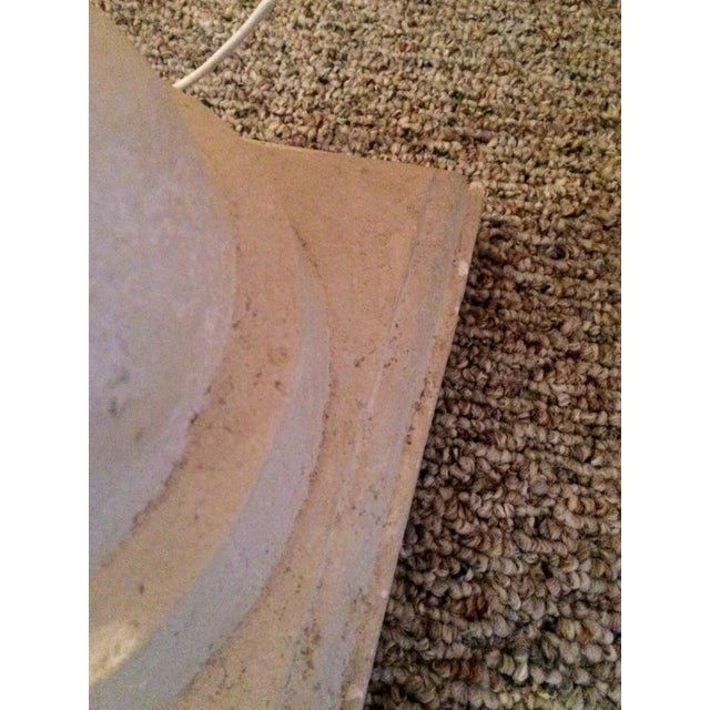 Michaels Craft Floor Lamp: Michael Taylor Plaster Spiral Floor Lamp
