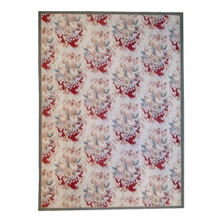 """Pasargad Aubusson Hand Woven Wool Rug - 8'11"""" X 12' 0"""""""
