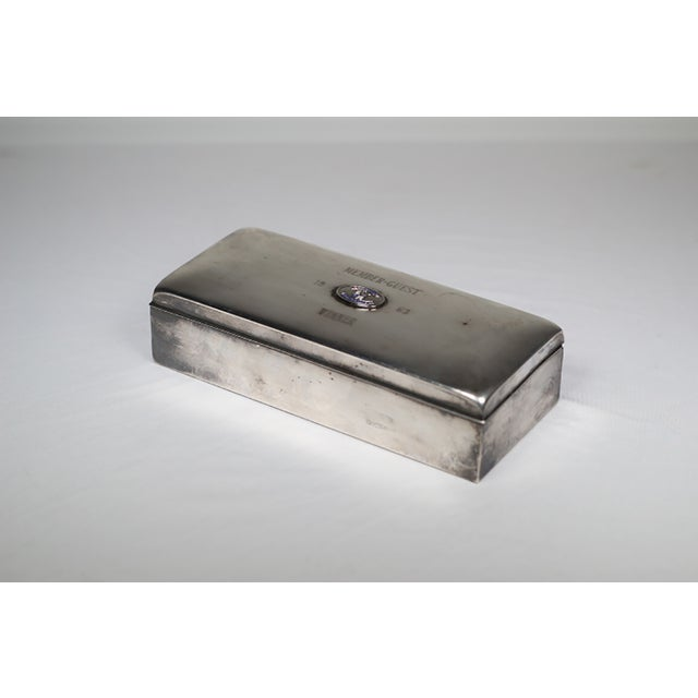 Mid-Century Silver Plated Box - Image 2 of 5
