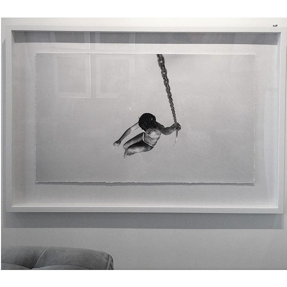 """""""Swing"""" Framed Floated Print Photograph on Rag Paper by Enric Gener For Sale - Image 6 of 9"""