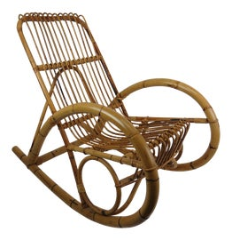 Image of Brown Rocking Chairs