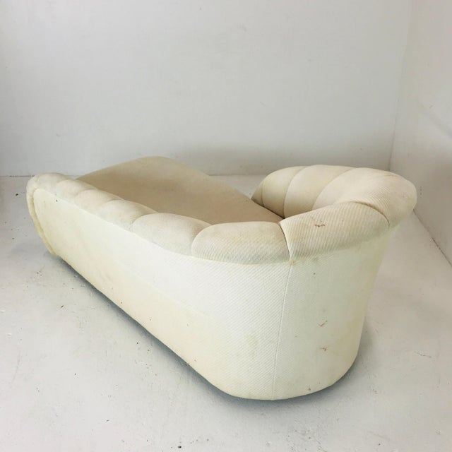 Textile MCM Channel Chaise by Directional For Sale - Image 7 of 12