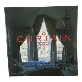 The Curtain Book: A Sourcebook for Distinctive Curtains For Sale