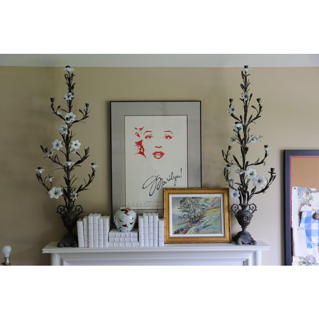 Pair of Tall Antique French Candelabras - Image 4 of 5