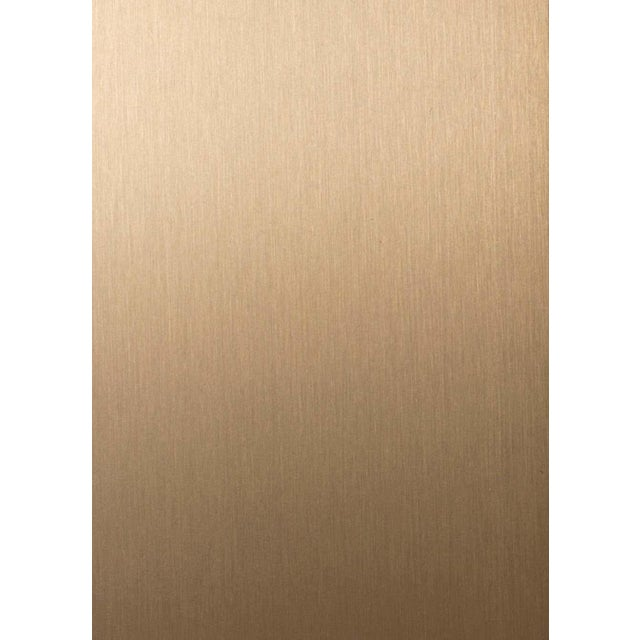 Material Lust Contemporary 200 Sconce in Brushed Brass by Orphan Work, 2020 For Sale - Image 4 of 5