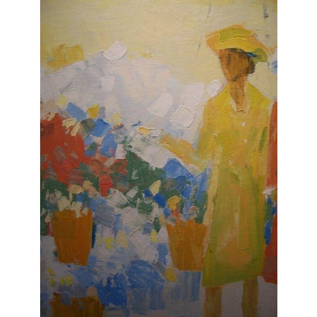 Oil on Canvas by W.R. Barrel For Sale - Image 4 of 5
