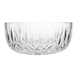 Vintage Round Bowl Araglin Pattern Cut by Waterford Crystal For Sale