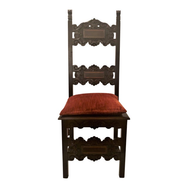 Set of 14 Antique English Oak Renaissance Dining Chairs, Circa 1880. For Sale