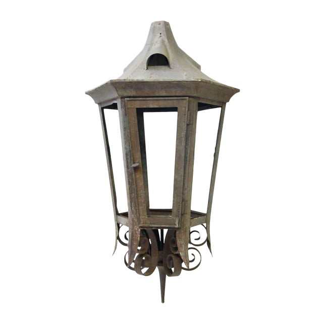 Vintage Exterior Lantern For Sale