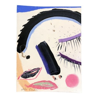 Original Contemporary Robert Cooke FacePainting & Pastel For Sale