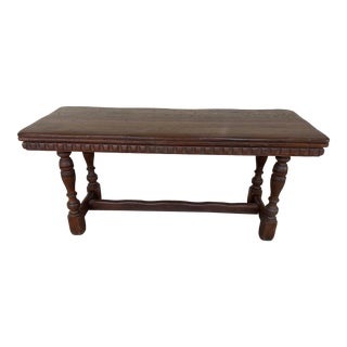 English Elizabethan Style Console Table For Sale