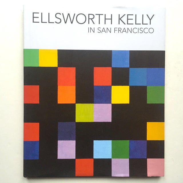 """Ellsworth Kelly in San Francisco"" 1st Edtn Exhibition Modern Art Book For Sale - Image 11 of 11"