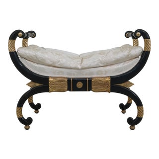 Baker Stately Homes Collection Regency Bench For Sale
