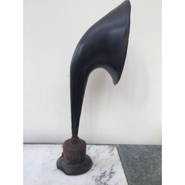 Vintage Western Electric Gamaphone Horn on Metal Base - Image 3 of 8