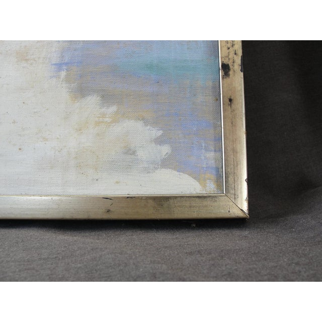 Vintage Oil on Canvas Painting - Image 5 of 10