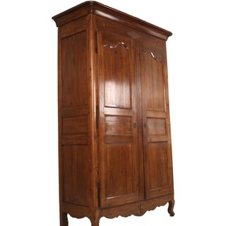 Antique French Louis Phillip Walnut Armoire Preview