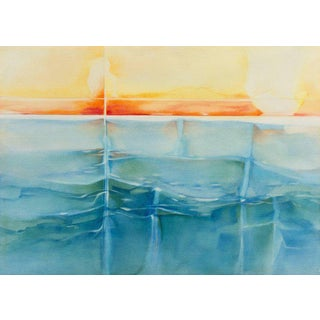 'Refracted Sunset' by Nada Brahma For Sale
