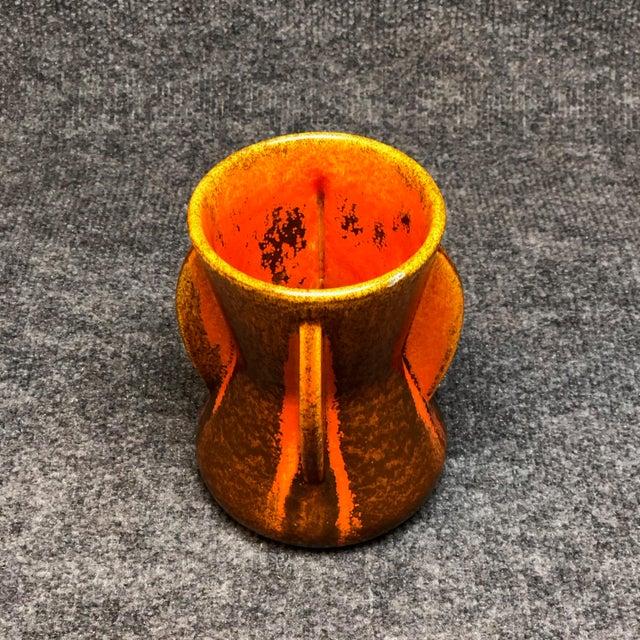 Art Deco Pfaltzgraff Art Deco Spanish Tile Glaze Vase For Sale - Image 3 of 5