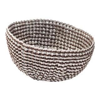 Brown Pop-Top Basket