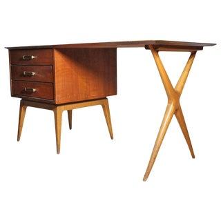 Fine Renzo Rutili Partners Desk for Johnson For Sale