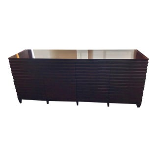 Barbara Barry for Baker Java Low Fluted Cabinet Sideboard