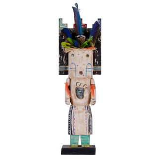 1998 Gregory Lomayesva Hopi Wood Sculpture For Sale