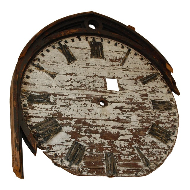 Historic Clock Face From New York City - Image 1 of 11