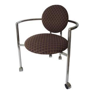 "Vintage Brueton Stanley Jay Friedman ""Moon Chair"" For Sale"