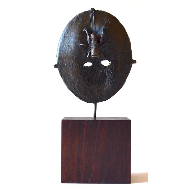 Metal Mid Century Modern Bronze Sculpture, France 1960s For Sale - Image 7 of 7