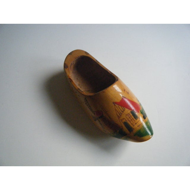Vintage Hand-Painted Dutch Shoe Clog - Image 5 of 5