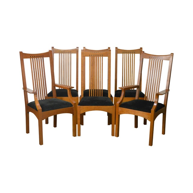Stickley Dining Room Furniture For Sale: Stickley 21st Century Collection Mission Style Cherry
