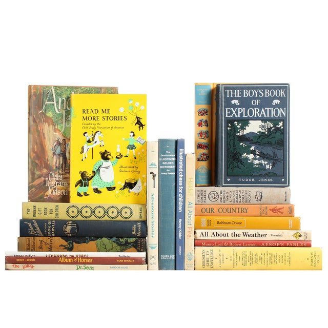 Children's Library of Learning Books - Set of 20 - Image 1 of 2