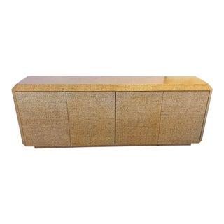 Karl Springer Style Mid-Century Sideboard Credenza