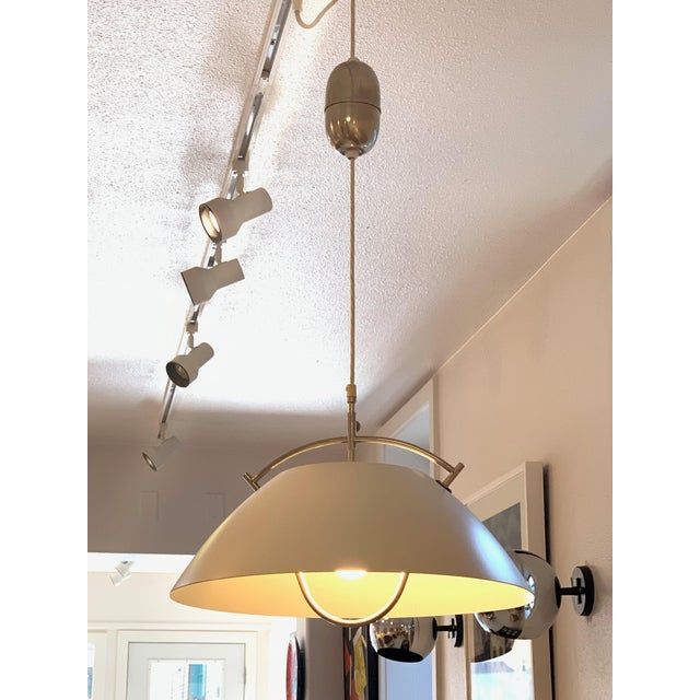 Hans Wegner for Louis Poulsen, Jh 604 Pendant Lamp Circa: 1960 For Sale - Image 6 of 7