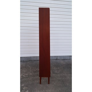 1960s Danish Modern Graduated Teak Bookcase Shelf Preview